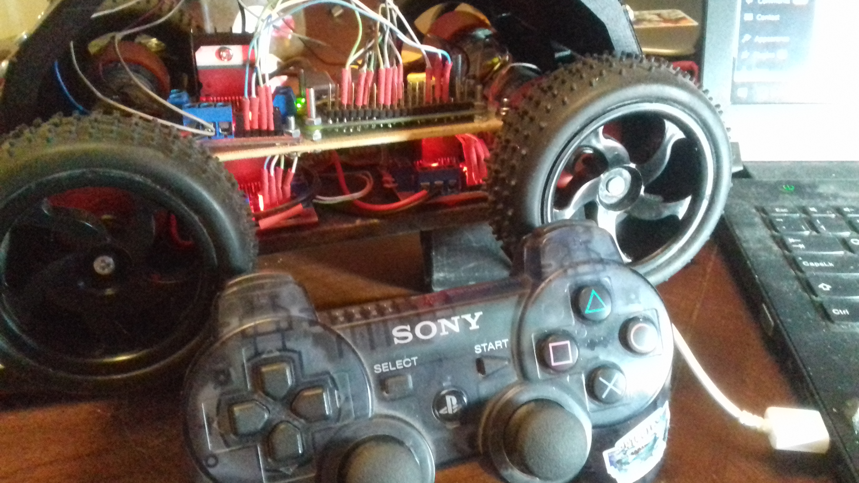 Pairing PS3 Controller with Raspberry Pi | Andrew Seaford